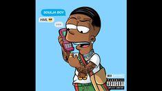 Swag Cartoon, Dope Cartoon Art, Cartoon Design, Cartoon Pics, Black Cartoon Characters, Black Girl Cartoon, Black Love Art, Black Girl Art, Dope Wallpapers