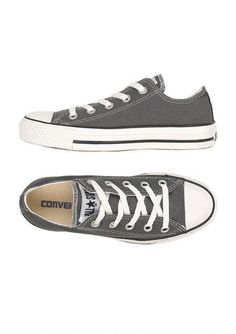 Converse - charcoal gray. I love mine. They go with a lot!