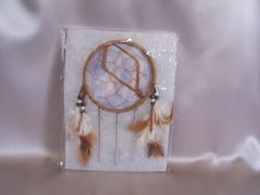 Small Dreamcatcher NIP Bad Dream Catcher Good Dream Keeper - Wall Hangings, Mirrors