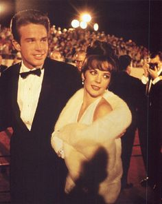 Warren Beatty and Natalie Wood, how 'Hollywood' is this photograph?