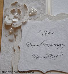 DIY Cricut Anniversary Card Ideas   Flowergirl Cards
