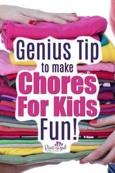 Your kids don& have to dread weekend chores anymore! This one genius tips makes everyone look forward to weekend chores.it& that FUN! Parenting Humor, Parenting Advice, Kids And Parenting, Practical Parenting, Mentally Strong, Chores For Kids, Children Chores, Before Baby, Tips & Tricks