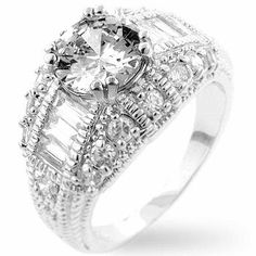 Dannicka Engagement Ring (Size 10)