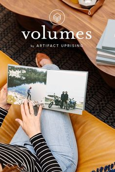 Wish your photos would print themselves? Meet Artifact Uprising Volumes –– an automatic book building service for the photos you love most. Get started today on the @artifactuprsng app.