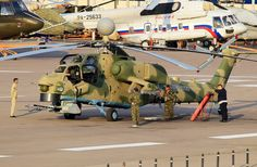 Russian Mi-28N Night Hunter attack helicopter – Updated