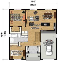 Plan 80890PM: Graceful One Story Southern House Plan