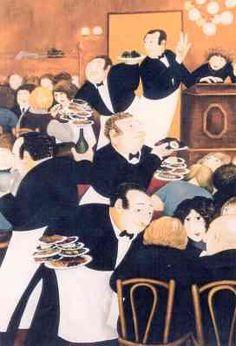 Restaurant Bouillon Chartier -Beryl Cook OBE
