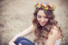 macy maloy #flowercrown