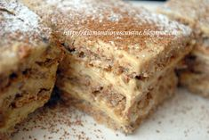 Romanian Desserts, Romanian Food, Romanian Recipes, Cookie Desserts, Cookie Recipes, Christmas Sweets, Food Cakes, Something Sweet, Sweets Recipes