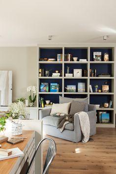Salones pequeños con muebles que aprovechan cada centímetro