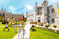 Met een uitzicht op de hoofdingang van het originele familiepark LEGOLAND® en een investering van 26 miljoen euro (200 miljoen DKK), wordt in het voorjaar van 2019 het LEGOLAND Billund Resort in Zuid-Jutland uitgebreid met een nieuwe topaccommodatie, het LEGO® Kasteelhotel. Het ontwerp is afgeleid van de speelgoedversie en zal worden aangekleed met meer dan 900 LEGO modellen in de vorm van ridders, draken, tovenaars en prinsessen. Komende dagen wordt een start gemaakt met de bouw van het…