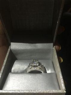 16994c73044b I love my engagement ring! Juanita Peek · Wedding Day Bliss
