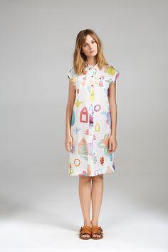 STRAIGHT SHIRT DRESS Women Wear, Shirt Dress, Summer Dresses, Contemporary, Shirts, Collection, Fashion, Moda, Shirtdress