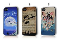Disney Peter Pan Tinkerbell Neverland Quote Phone Case Cover iPhone 4 4s 5 5s 5c