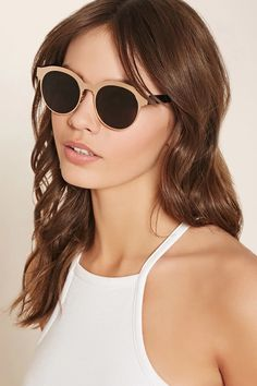 Etched Round Sunglasses #accessorize