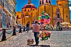 Guanajuato. There's a sushi restaurant around here somewhere. At least when I was living there.