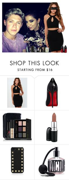"""""""Party in Brazil with Nialler (my boyfriend) and Anitta"""" by jaynnelinsstyles ❤ liked on Polyvore featuring mode, Lulu*s, Christian Louboutin, Smashbox, MAC Cosmetics, Valentino et Victoria's Secret"""