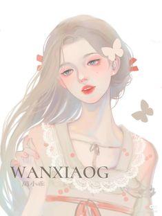 China Art, Anime Fantasy, Art Girl, Pretty Girls, Anime Art, Digital Art, Manga, Drawings, Chinese
