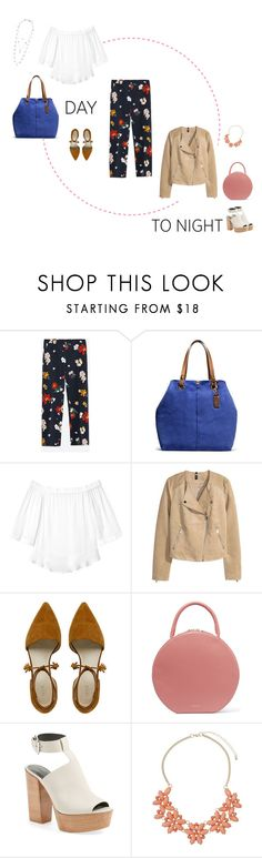 """""""Spring - Day to Night"""" by freddarling ❤ liked on Polyvore featuring Zara, UGG Australia, Rebecca Taylor, Mansur Gavriel, Rebecca Minkoff, Dorothy Perkins and Lucky Brand"""