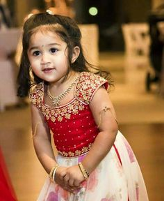 kundan work for small kids - Yahoo Search Results Yahoo India Image Search results Indian Baby Girl, Kids Indian Wear, Kids Ethnic Wear, Cute Baby Dresses, Little Girl Dresses, Pretty Dresses, Flower Girl Dresses, Beautiful Dresses, Kids Dress Wear
