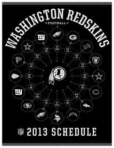 Washington Redskins 2013 Schedule