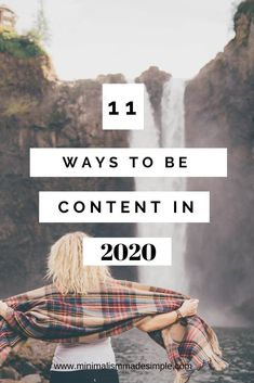 Discover how to be content in 2020 and what being content really means #becontent #goals2020 #selfcare #content