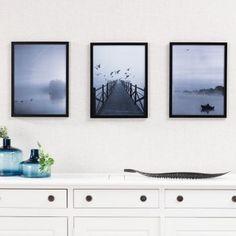 Obraz Foggy Lake I 30 × 40 cm - Dekoria Flat Screen, Gallery Wall, Home Decor, Blood Plasma, Decoration Home, Room Decor, Flatscreen, Home Interior Design, Dish Display