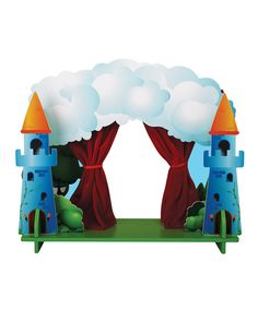 Take a look at this Interchangeable Puppet Theater Set on zulily today!