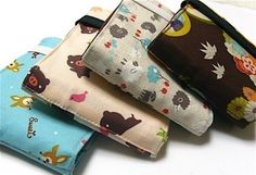 Custom Fabric Wallet  Vegan wallet  Billfold Wallet by blissful, $29.00