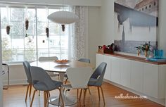 Nalle's House: Christmas House Tour - Dining and Living Room