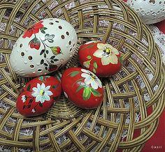 Sada červených kraslíc by Cecil - SAShE.sk - Handmade Veľká Noc