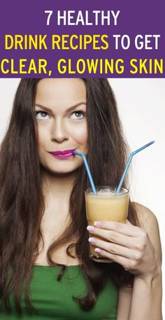 7 DIY natural drink recipes to give you amazing skin!