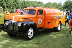 1947 Ford Tanker Truck   by carphoto