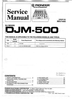 pioneer pdp 505 pu kuro plasma tv service manual pinterest rh pinterest com Pontiac Shop Manual 2007 Store Workshop Manual