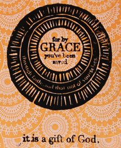 Items similar to by grace - woodcut print - pick your paper on Etsy Scripture Art, Bible Art, Woodcut Art, Bless The Lord, Saved By Grace, Spiritual Life, Daily Affirmations, Love Letters, Friends In Love