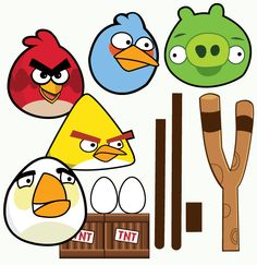 Wants and Wishes: Party planning: {Real Parties} Angry Birds Birthday Party