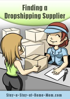http://www.stay-a-stay-at-home-mom.com/dropshipping-tips.html Finding a Dropshipping Supplier!