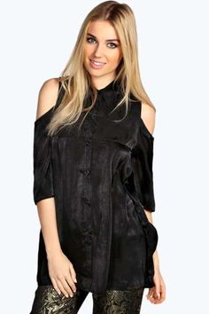 Maddie Silky Open Shoulder Trapeze Shirt. Get unbeatable discounts up to 60% Off at Boohoo using Coupon & Promo Codes.