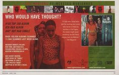Les Nubians Music Ad Would Have Thought Full Page Color Advert