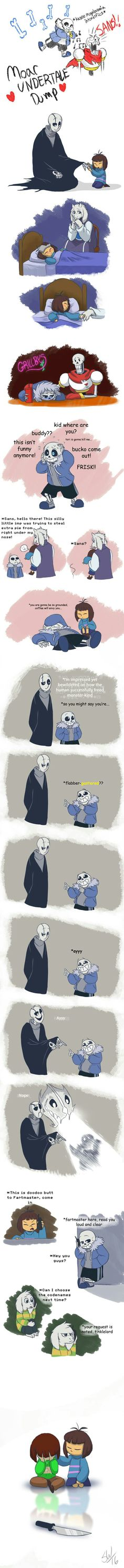 Sans is also... Not best parent sometimes...