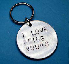 Boyfriend gift Husband gift Valentines day by BeesHandStampedGifts