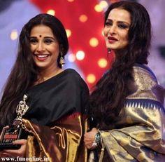 The Talented Actress Vidya Balan and Rekha promote Kanchivaram Silk, The Queen of all Silk