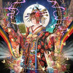 小林幸子さんがコミケで出されるCD「さちへんげ」のジャケットイラストを描かせて頂きました。 クロスフェード動画→http://www.nicovideo.jp/watch/sm26893674 スペースは【8月16日(日)西1ホール れ19a「5884組」】です!
