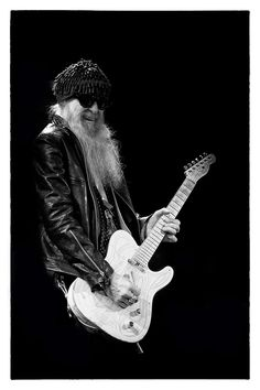 Billy Gibbons is the best guitarist who ever lived. Also Angelas dad in Bones! Zz Top, Music Icon, My Music, Billy Gibbons, Best Guitarist, Blues Rock, Cool Guitar, Concert Posters, Great Bands