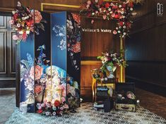 Chinese Wedding Decor, Oriental Wedding, Chinese New Year Decorations, Japanese Wedding, Backdrop Decorations, Backdrops, Wedding Decorations, Wedding Themes, Wedding Designs