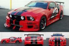 2005-2009 Ford Mustang Widebody Aerodynamic Body Kit - [AB-262000]