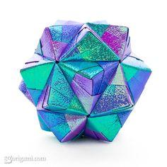 - Origami - * Sonobe Modular * - by : Mitsunobu Sonobe -