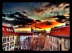 #berlin #fernsehturm #sunset