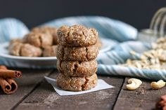 These No Bake Snickerdoodle Cookies may not be the traditional version but they are still a delicious sweet treat that can give you an energy boost as well!