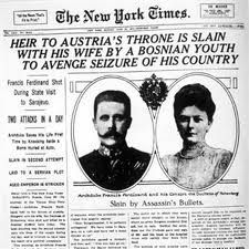 """The """"spark"""" that started the war. The assassination of Archduke Franz Ferdinand was used by the Germans as an excuse to put pressure on Serbia. Austria-Hungary gave  Serbia an ultimatum (The July Ultimatum) to remove all anti-Austro-Hungarian propaganda and they also wanted to conduct their own investigation of the assassination."""